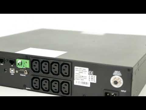 ИБП Powercom SRT-1500A Видео